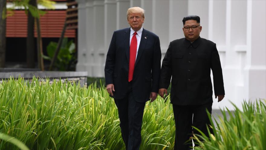"""Pyongyang condiciona """"desnuclearización"""" al cese de hostilidad de EEUU"""