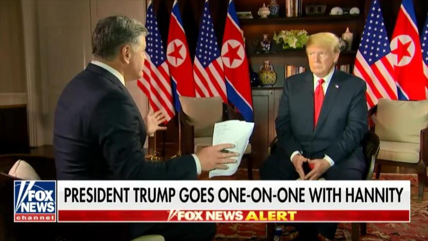 Trump: Pyongyang se desnuclearizará de manera inmediata