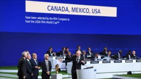 EEUU, México y Canadá acogerán el Mundial de 2026 conjuntamente