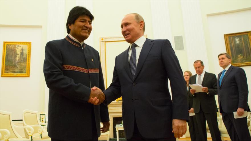 Rusia y Bolivia abordan desarrollo de cooperación técnico-militar | HISPANTV