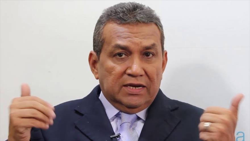 El gobernador del estado venezolano de Mérida, Ramón Guevara.