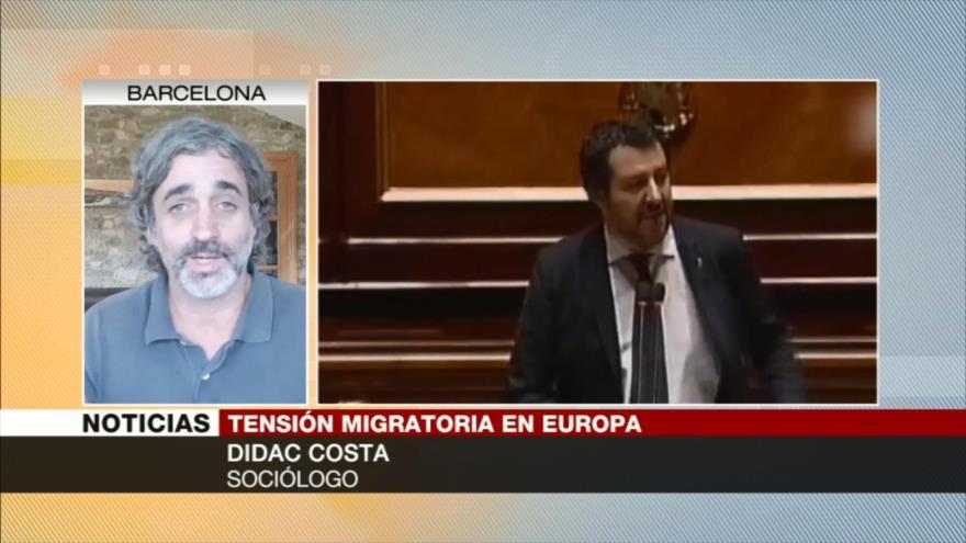 Costa: España quiere cambiar su imagen recibiendo a migrantes