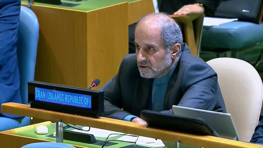 Irán urge a comunidad internacional a condenar atrocidades israelíes