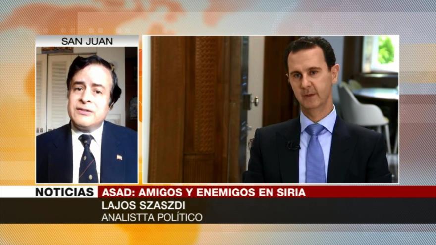 Lajos Szászdi: Es muy posible confrontación entre EEUU y Rusia en Siria