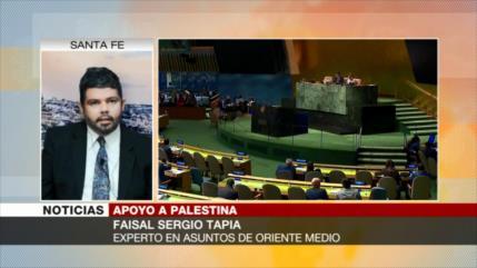 Faisal Sergio Tapia: Israel cada vez está más aislado en el mundo