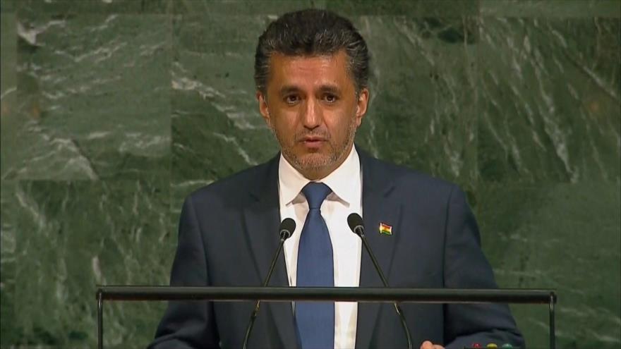 Bolivia denuncia 'derecho indirecto' de Israel a veto en la ONU