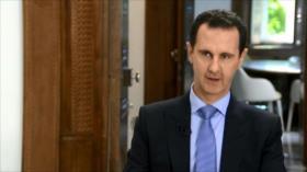 Entrevista Exclusiva: El presidente sirio, Bashar al-Asad
