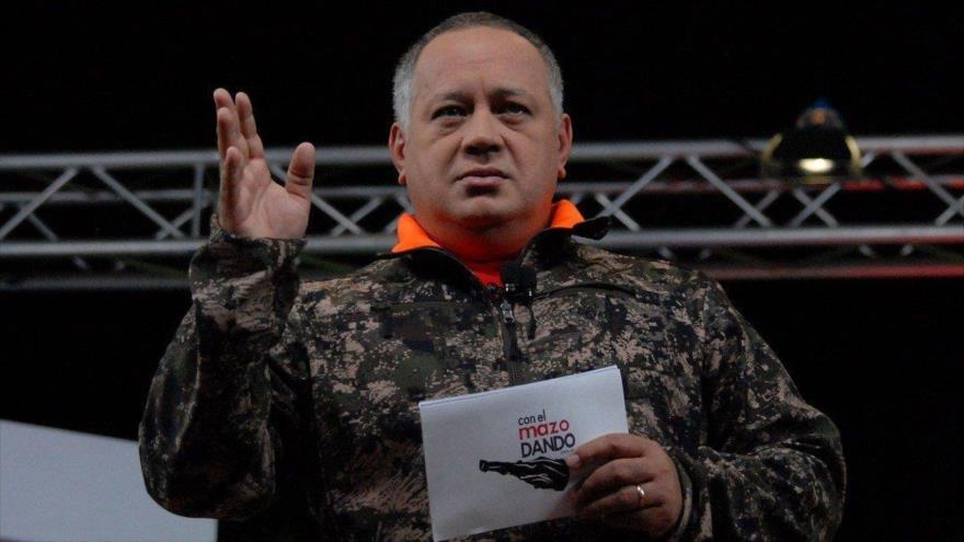 Primer vicepresidente del Partido Socialista Unido de Venezuela (PSUV), Diosdado Cabello, en su programa Con el Mazo Dando, 13 de junio de 2018.
