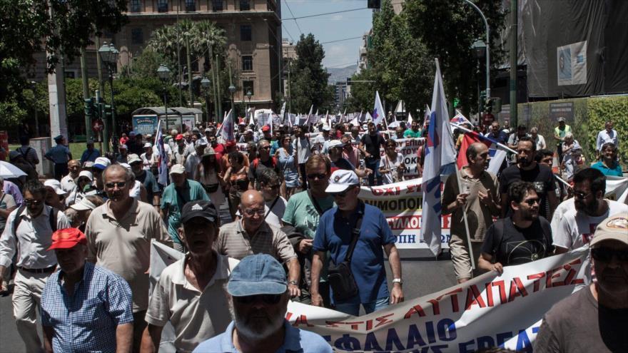 Mundial de Rusia. Protesta en Grecia. Agresión saudí