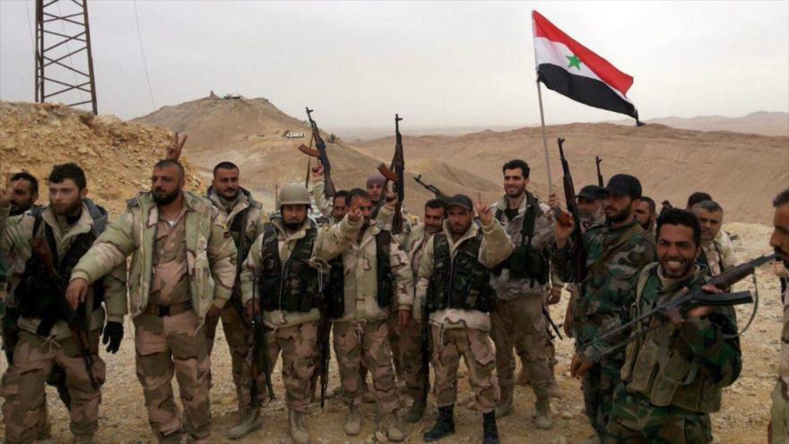 Ejército sirio está listo para acabar con terroristas en el sur