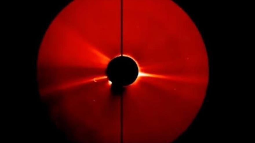 Vídeo filtrado de NASA muestra objeto gigantesco que sale del Sol | HISPANTV