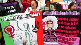 Mexicanos protestan para exigir alto a la violencia política
