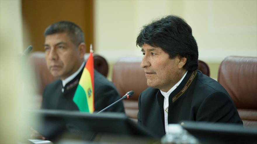 Evo Morales le quita la máscara a EEUU en América Latina