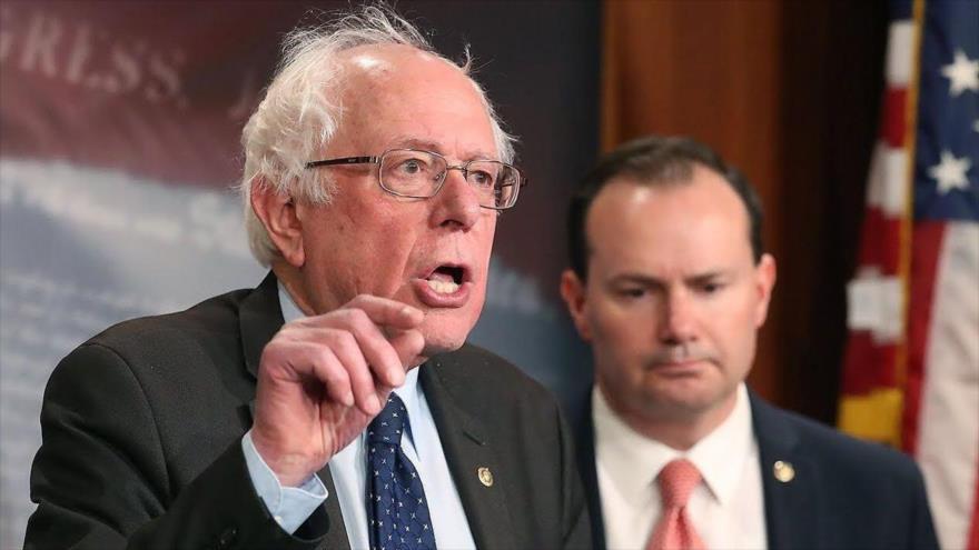 Sanders pide revelar rol de Pentágono en ataque a puerto yemení