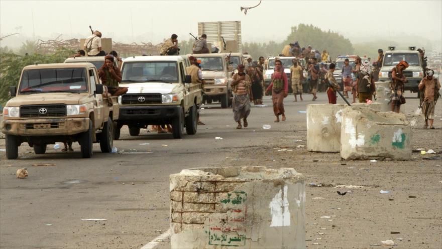 Mercenarios saudíes cercan aeropuerto de ciudad portuaria yemení