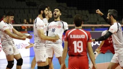 Voleibolistas de Irán derrotan a Polonia en Liga de Naciones