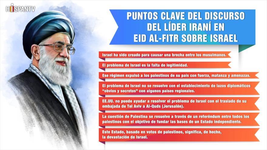 Infografía: Declaraciones del Líder iraní sobre Israel
