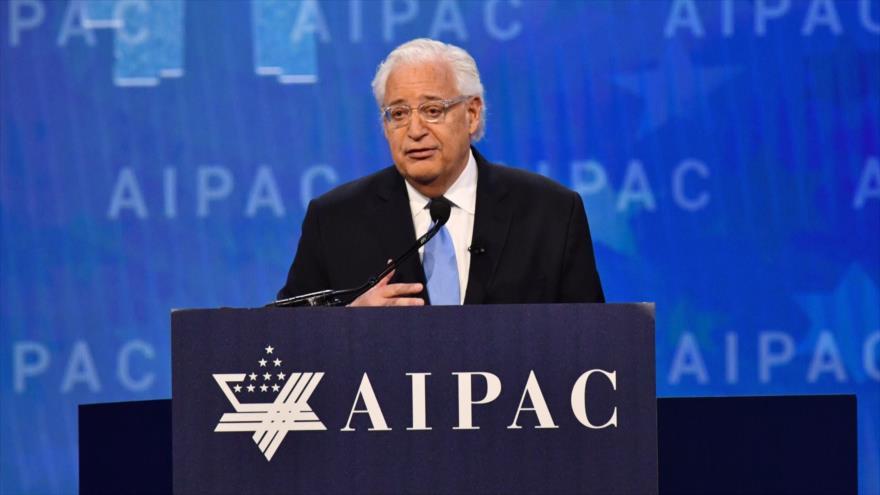 Embajador de Trump defiende a Israel de investigaciones de EEUU