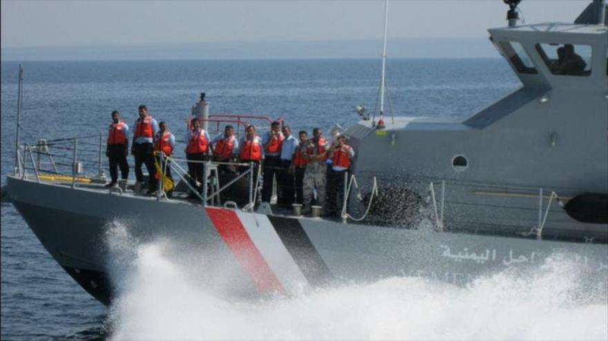 Fuerzas yemeníes capturan un barco militar francés en Al-Hudayda