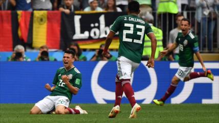 México hace historia en el Mundial y vence a Alemania por 1-0