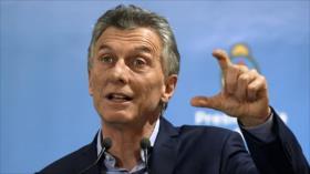 Oposición argentina reprocha la política económica de Macri