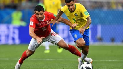 Brasil iguala 1-1 con Suiza en su debut en el Mundial de Rusia