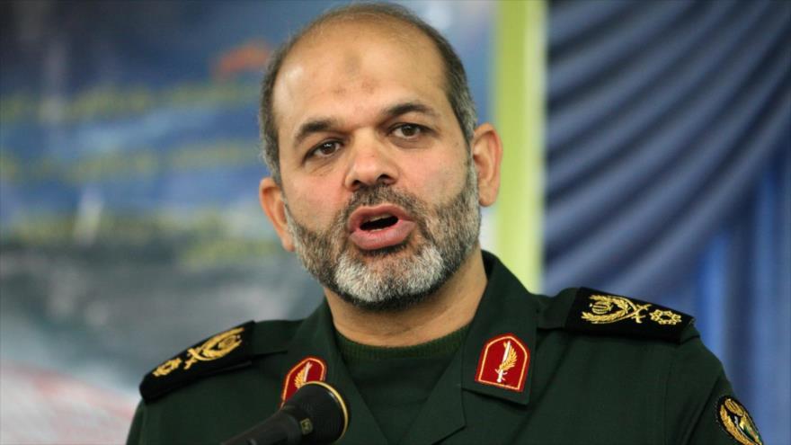 El exministro de Defensa de Irán, el general de brigada Ahmad Vahidi.
