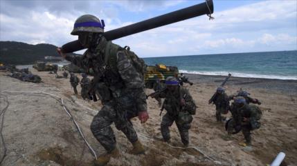 """""""EEUU y Corea del Sur cesarán esta semana maniobras conjuntas"""""""