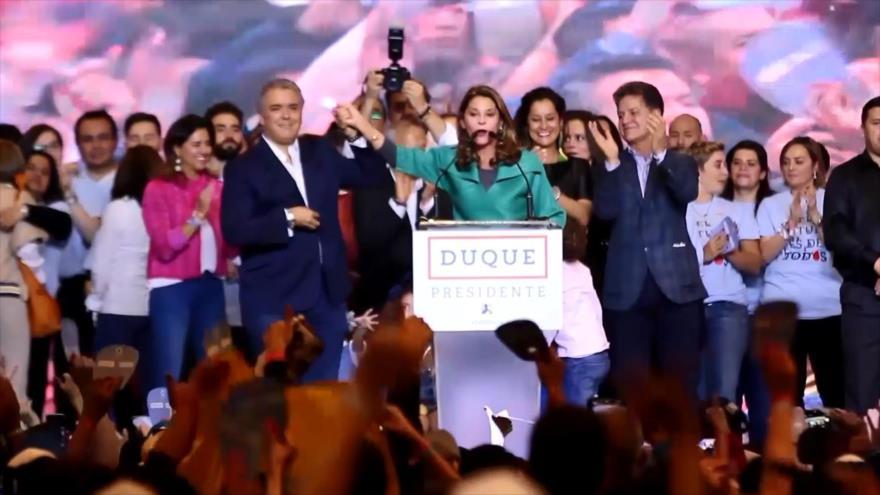 Iván Duque es el nuevo presidente de los colombianos