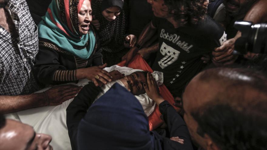 ONU en 'shock' por alta cifra de palestinos asesinados en Gaza