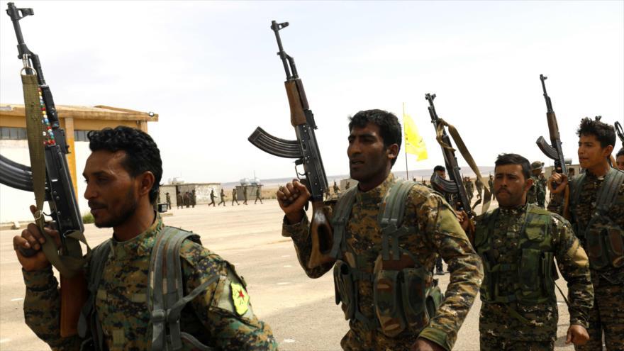 Kurdo-sirios preparan ofensiva para expulsar a Turquía de Siria