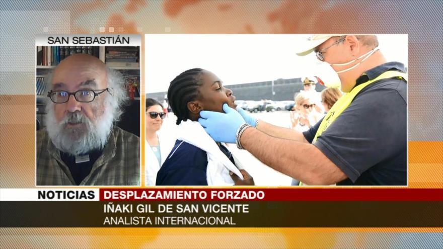 Iñaki Gil: Dolor de migrantes se debe a sistema de países capitalistas