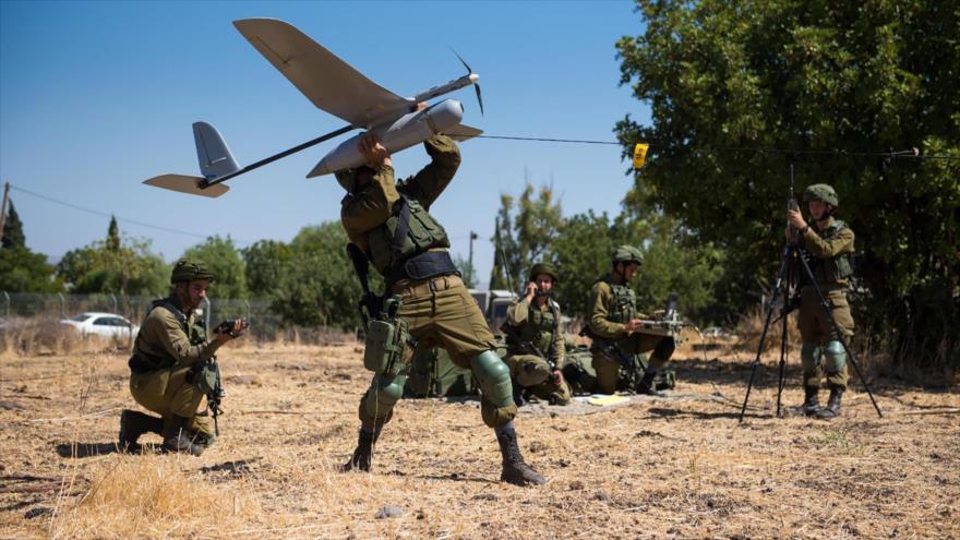 Dron espía del ejército de Israel cae en Siria