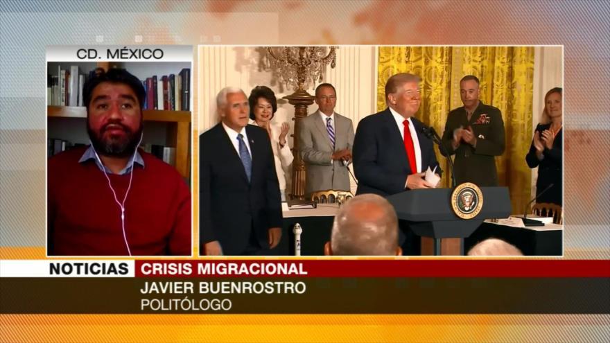 Javier Buenrostro: Políticas de EEUU hacia migrantes atentan contra DDHH