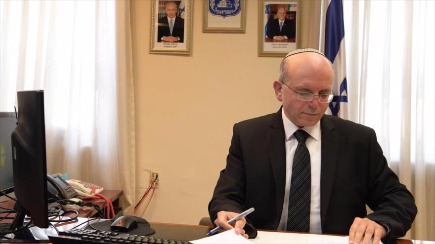 El director del consejo de seguridad nacional de Israel, Meir Ben Shabat.
