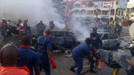 Se eleva a 43 el número de muertos por ataques suicidas en Nigeria