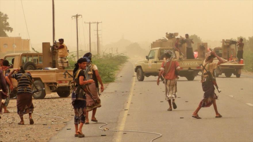 Yemeníes capturan a 130 y matan a 60 mercenarios saudíes en Al-Hudayda