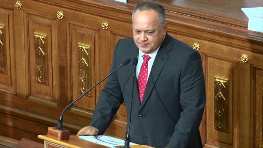 Diosdado Cabello fue proclamado como nuevo líder de la ANC