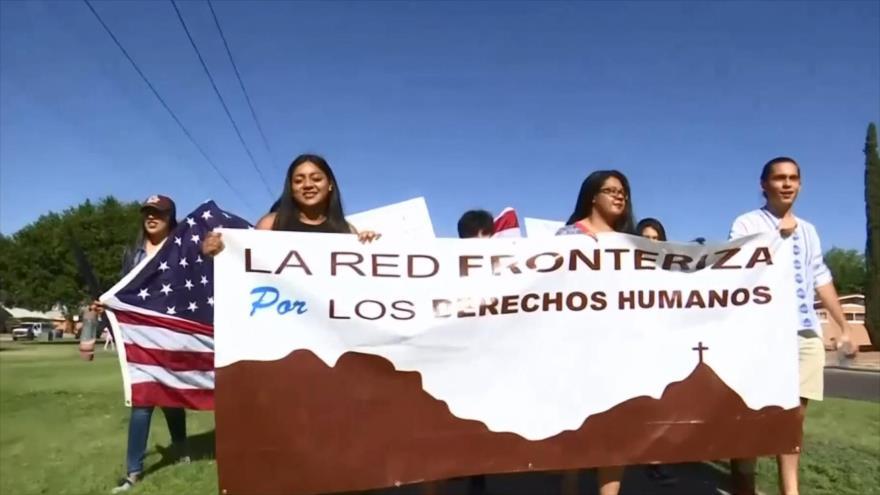 Protestas en EEUU contra la política migratoria de Donald Trump