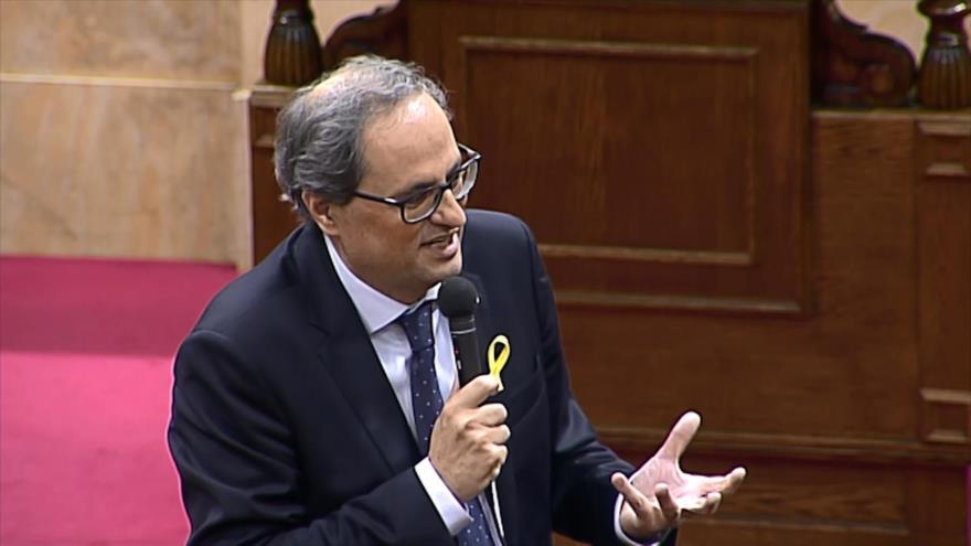 Cataluña insta al rey de España a disculparse por la represión