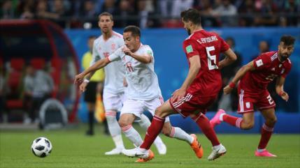 España sufre para vencer 1-0 a Irán en el Mundial de Rusia