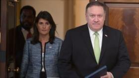 Venezuela y Bolivia repudian retiro de EEUU de Consejo de DDHH