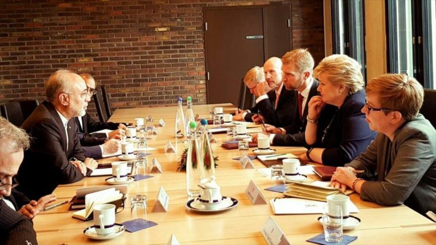Irán: Europa salvará pacto nuclear si se enfrenta a hostilidad de EEUU