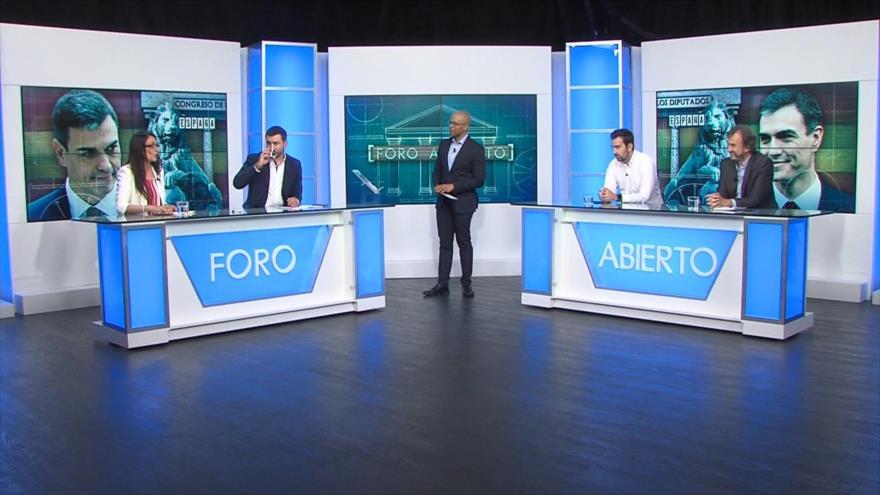 Foro Abierto; España: nuevo Gobierno, primeros debates parlamentarios