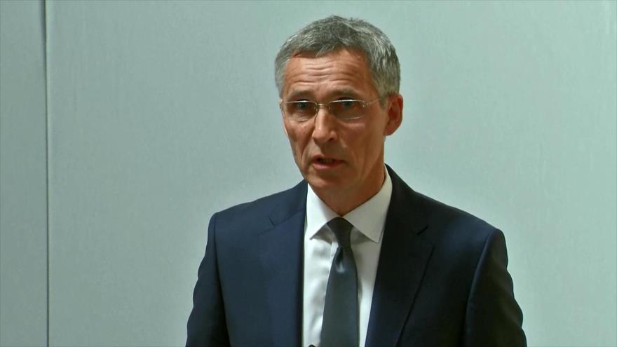 Stoltenberg: OTAN podría caer si los aliados no alcanzan unidad