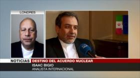 Bigio: EEUU aumenta presiones para derrocar al Gobierno iraní