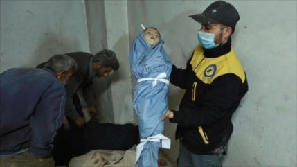Rusia: Armas químicas usadas en Siria son de fabricación europea