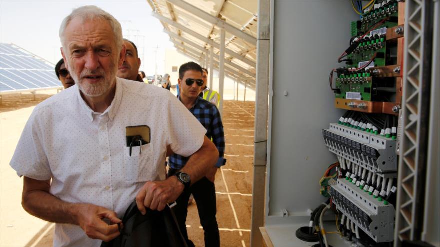 Corbyn: Gobierno laborista reconocería pronto a Palestina como Estado