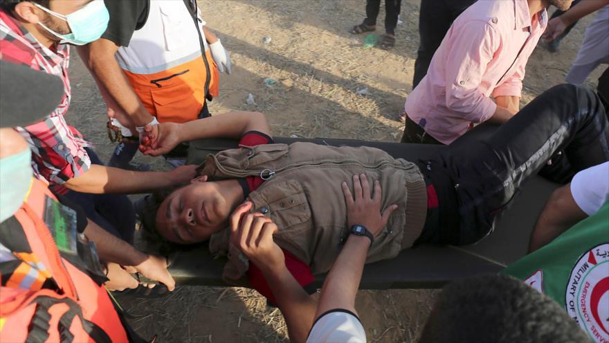Represión israelí en Marcha de Retorno deja 35 heridos en Gaza