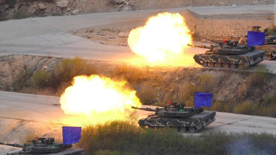 EEUU suspende indefinidamente dos ejercicios con Corea del Sur